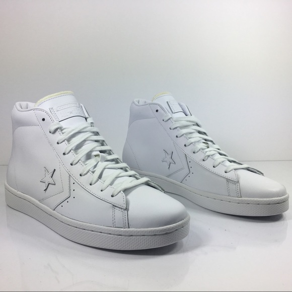 Converse Pro Leather 76 Mid White